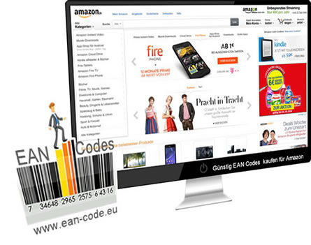 amazon ean codes nummern