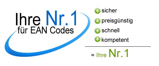 EAN Codes Verkauf - EAN Barcode Nummern