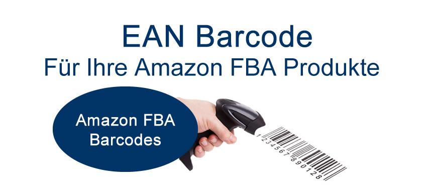 Barcodes für Ihre Amazon FBA Produkte |